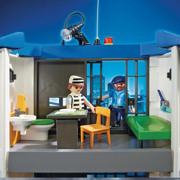 6919-Playmobil City Action-Commissariat de police avec prison