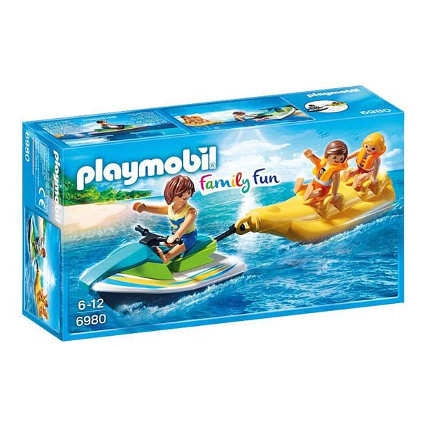 6980-Vacanciers Avec Jet-ski Et Banane - Playmobil Family fun