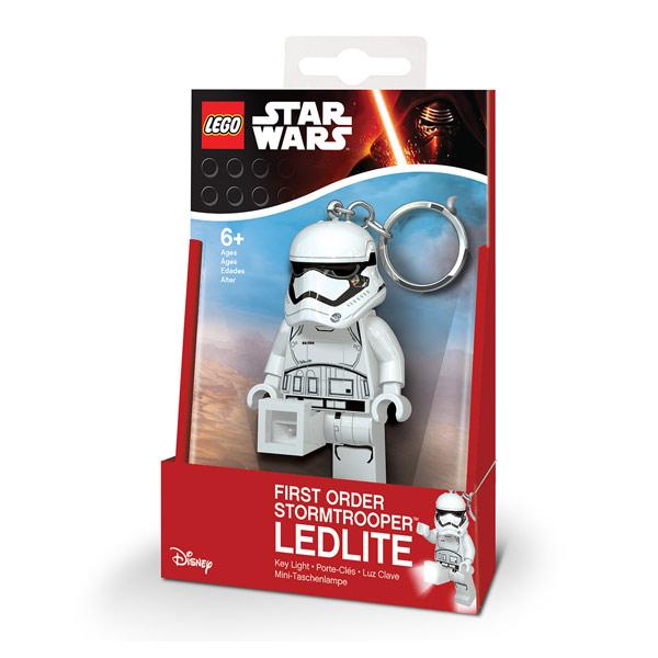 Lego Star Wars-Porte-clés LED Stormtrooper