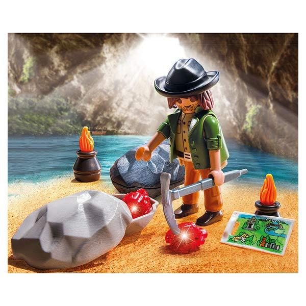 5384-Chercheur de cristaux - Playmobil Spécial Plus