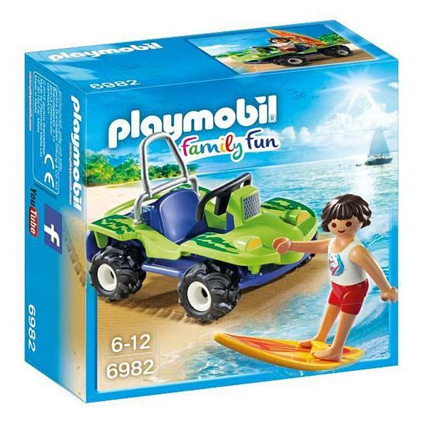 6982-Surfer Et Buggy - Playmobil Family fun