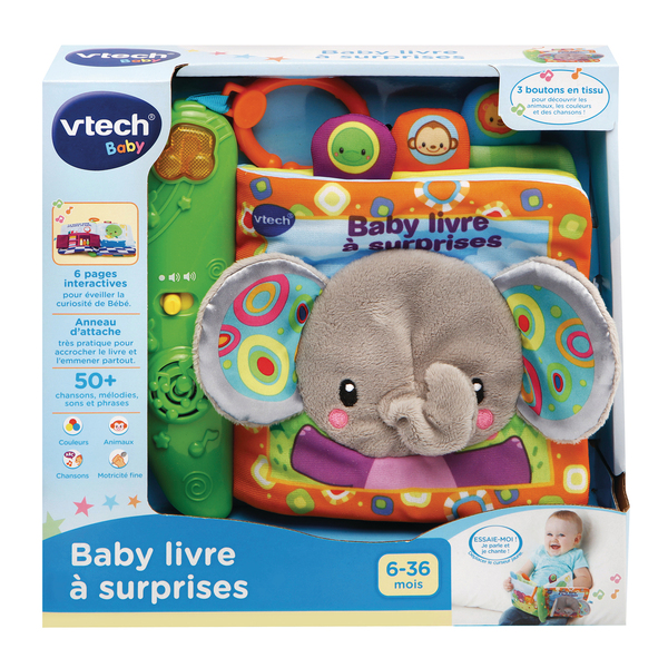 Livre interactif - Baby livre à surprises