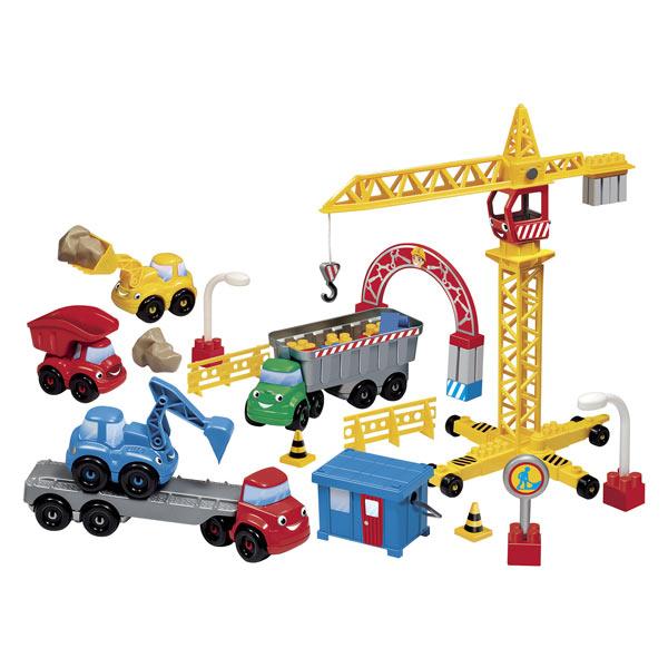 Abrick coffret avec véhicule de chantier