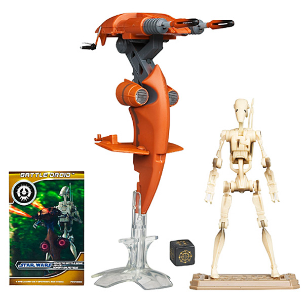 Véhicule Star Wars Stap With Battle Droid