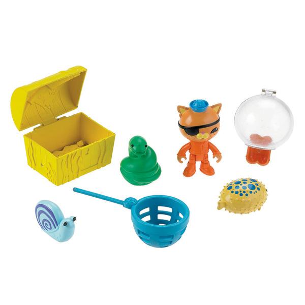 Figurines et accessoires Octonauts Kwazii et The Slime Eel