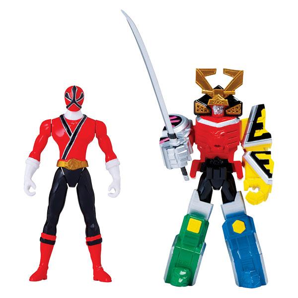 Power Rangers - Figurine Zord Armure Samouraï Megazord 10 cm
