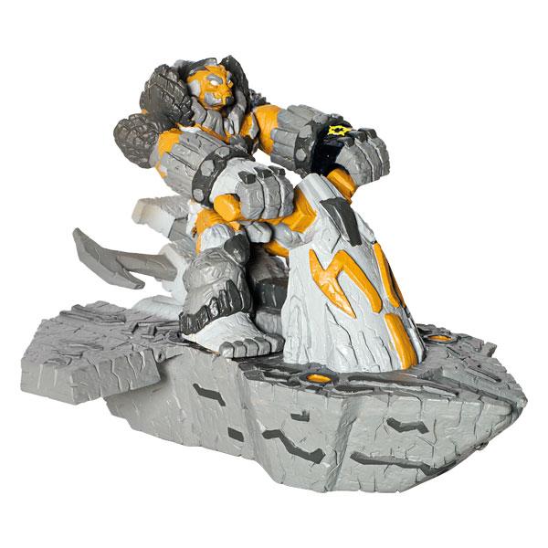 Gormiti CGI Véhicule + Figurine Terre