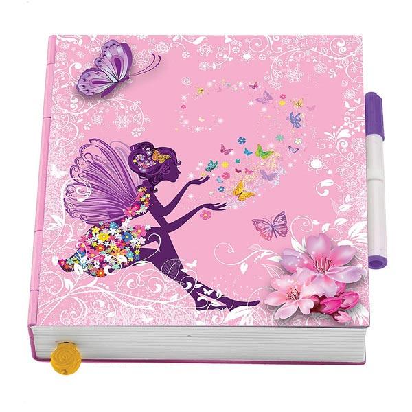 Livre Magique Papillon Rose