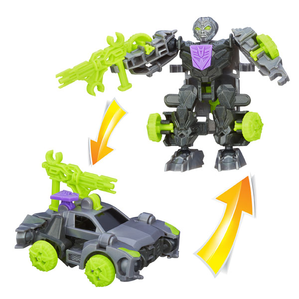 Figurine Transformers 4 Construct Bots Riders Lockdown