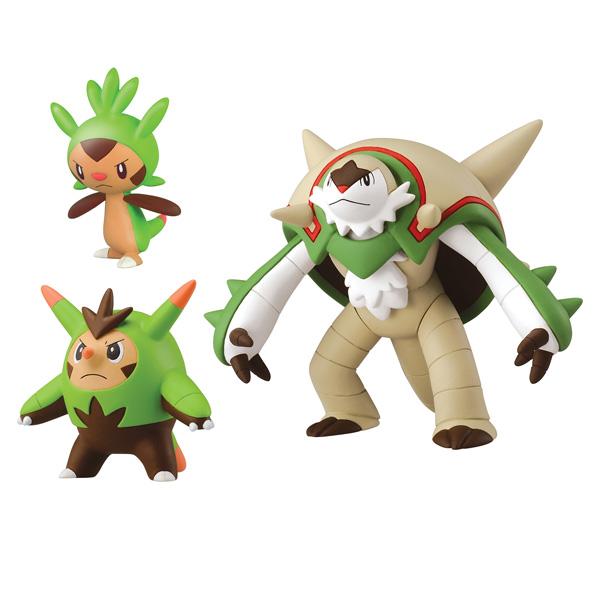 Pokemon XY Marisson, Boguérisse et Blindépique