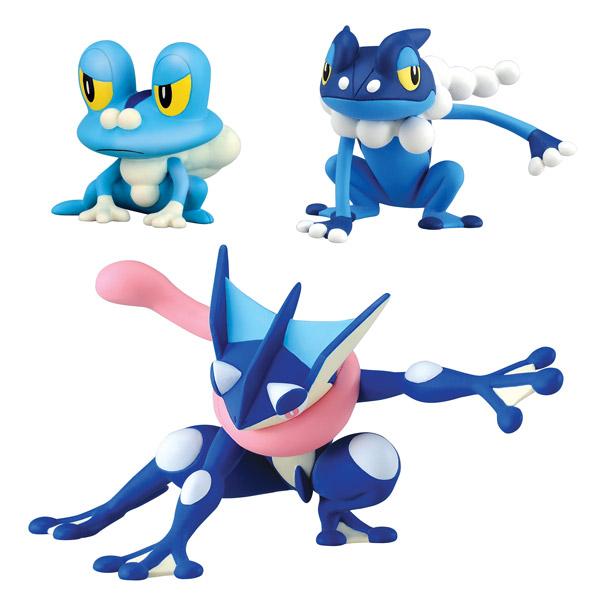 Pokemon XY Grenousse, Croâporal et Amphinobi