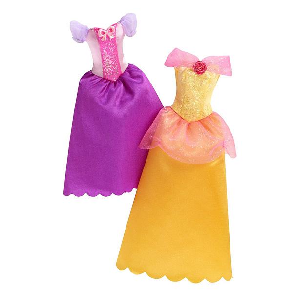 Robes à paillettes Disney Princesses Raiponce et Belle