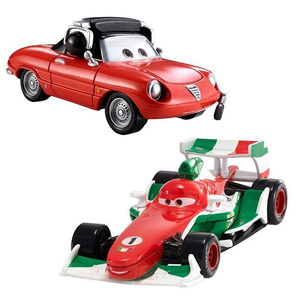 Cars 2 Francesco Bernoulli et Guiseppe Motorosi