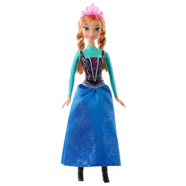 Poupée scintillante La Reine des Neiges Anna