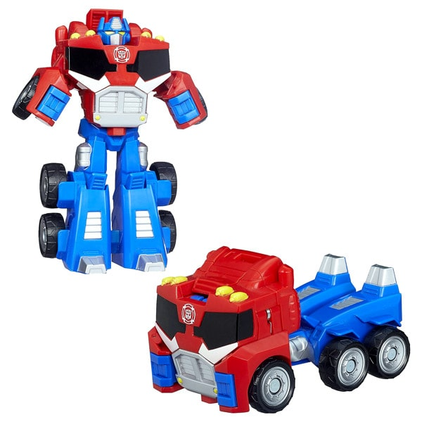 Transformers Rescue Bots 2en1 Camion Optimus Prime