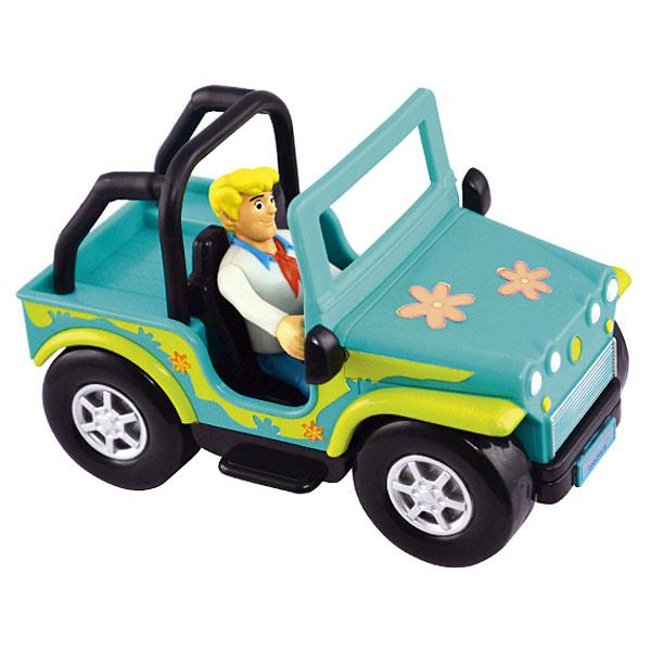 Véhicule avec Mini Figurine Scooby-Doo - Fred et sa voiture