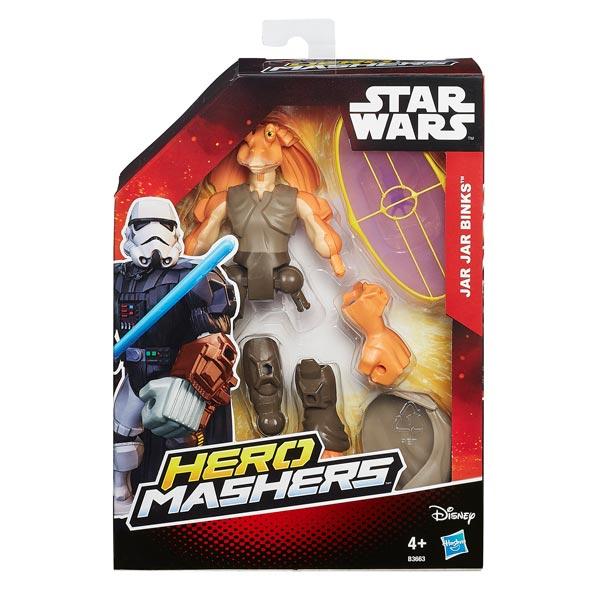 Jar Jar Binks figurine Star Wars Hero Mashers