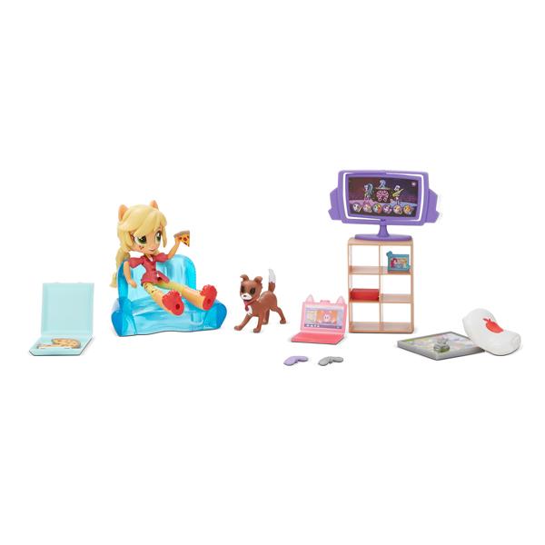 My Little Pony Mini Poupée 10 cm Univers - Chien Apple jack