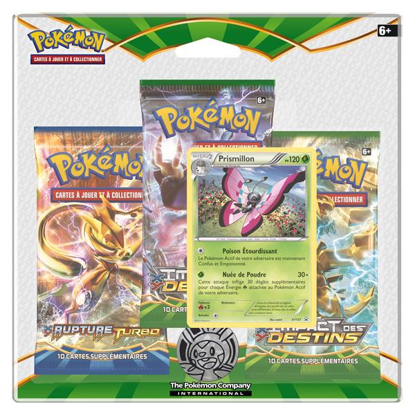 Pokemon pack 3 boosters xy10 Prismillon