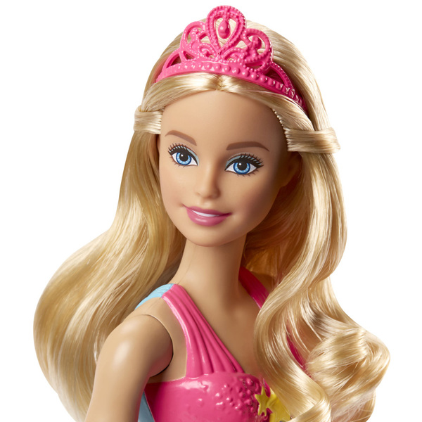 Barbie Princesse multicolore arc-en-ciel