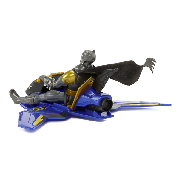 Batjet Avec 30 Figurine Batman Cm Véhicule OZPXukiT