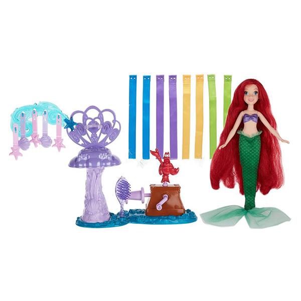 Coiffures créations Disney Princesses Ariel