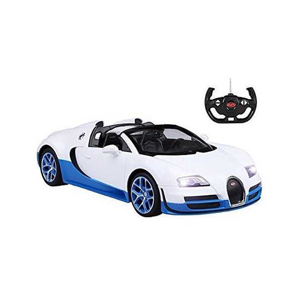 Bugatti Grand Sport Radiocommandée 1/18ème blanc