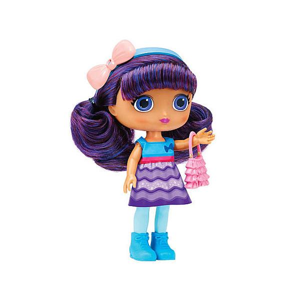 Poupée les Mini Sorcières 20cm Lavender robe vagues
