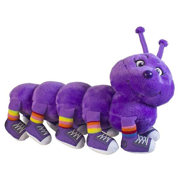 Mille pa-pattes 10 pattes violet