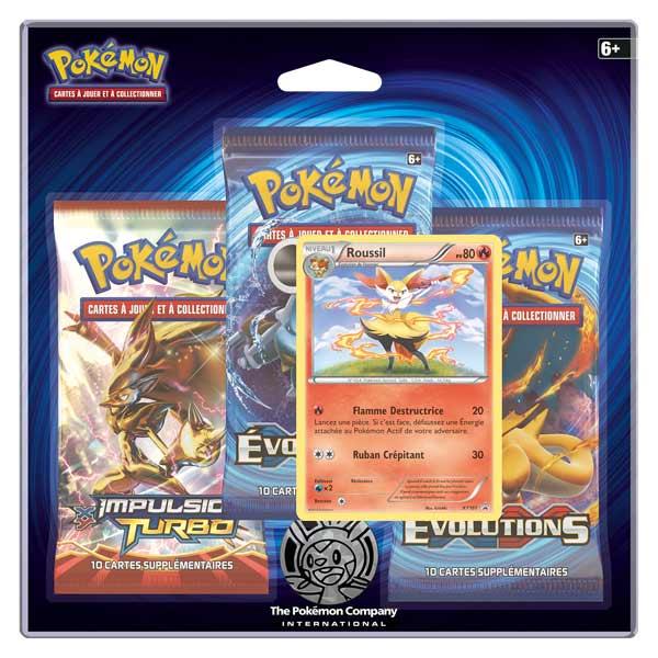 Boosters 3 Xy12 Roussil Pack Pokemon cKTl1FJ