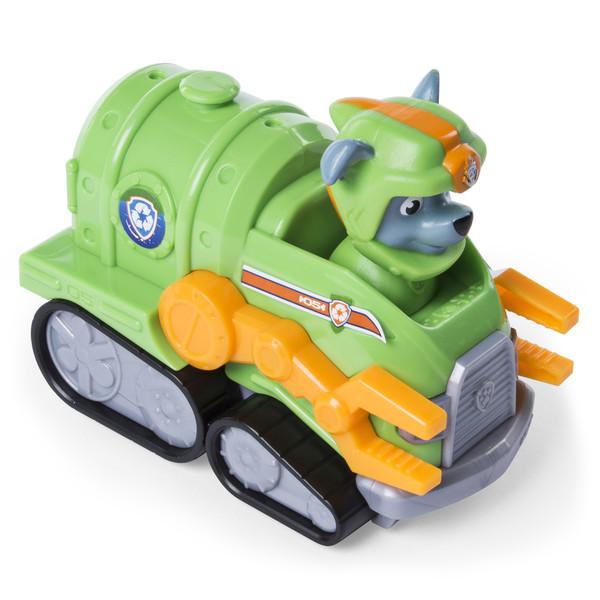 Pat'Patrouille-Mini véhicule Rocky avec casque