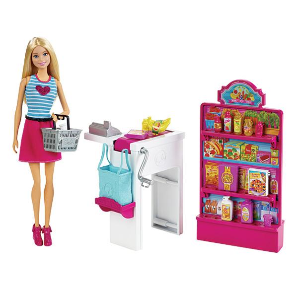 Barbie Malibu épicerie