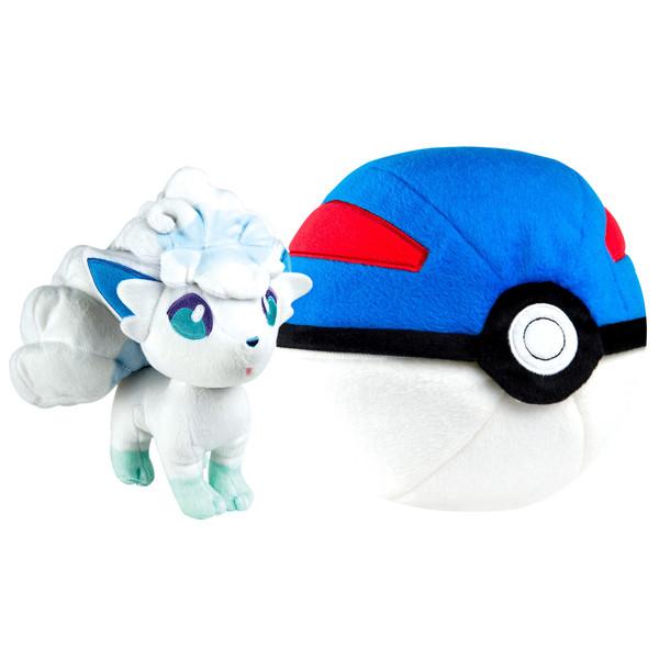 Pokémon-Peluche Zip Goupix d
