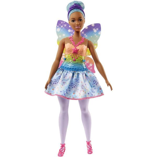 Barbie fée multicolore bleue