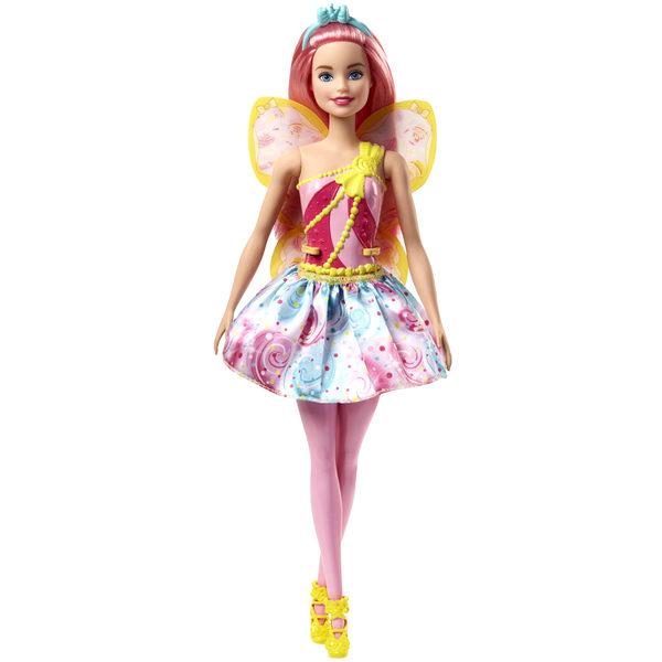 Barbie fée multicolore rose