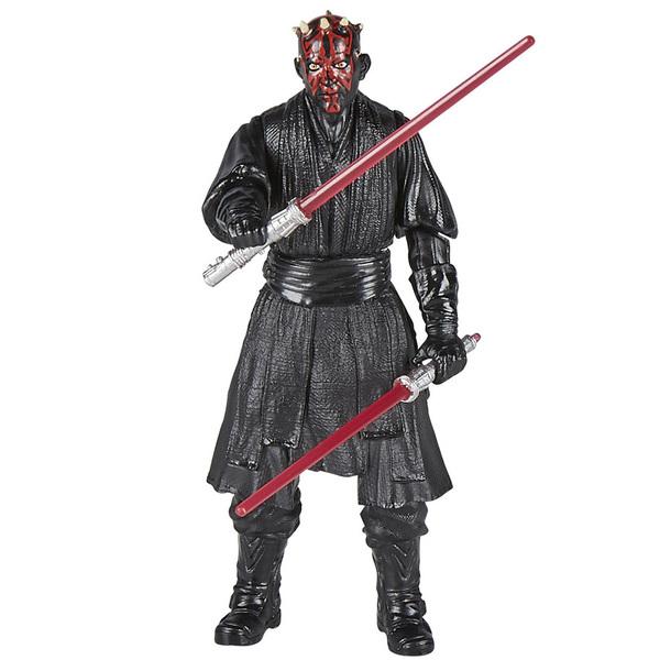 Star Wars-Figurines Darth Maul et Qui-Gon Jinn