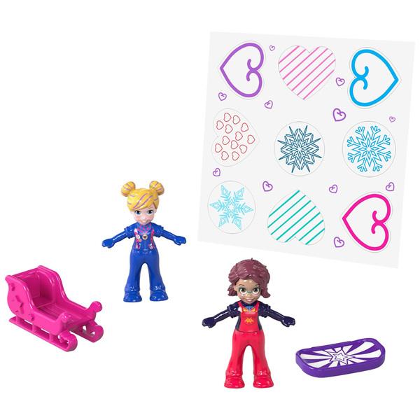 Polly Pocket-Coffret univers neige