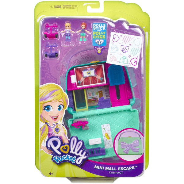 Polly Pocket-Coffret univers le sac à boutique