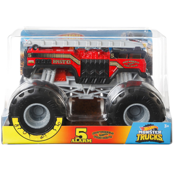 Hot Wheels-Monster Trucks Fire Dept 1/24 ème