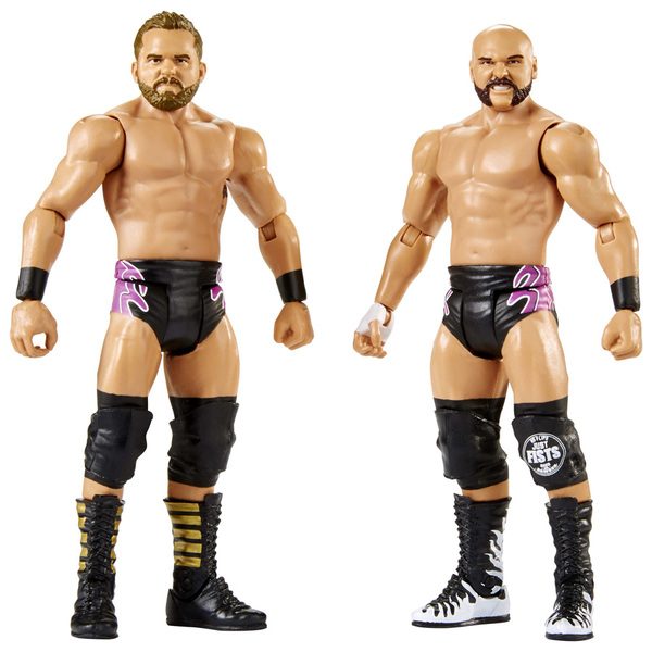 WWE-Coffret de 2 figurines de catch Dash Wilder et Scott Dawson 15 cm