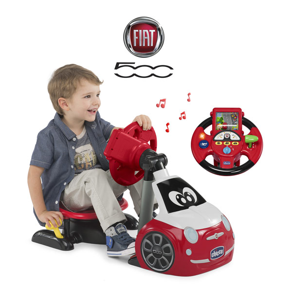 Simulateur de conduite Fiat 500 driver
