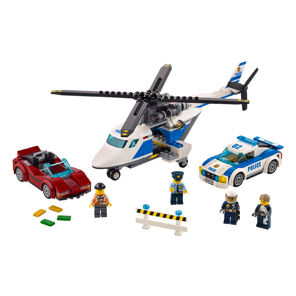60138 - LEGO® CITY - La course poursuite en hélicoptère