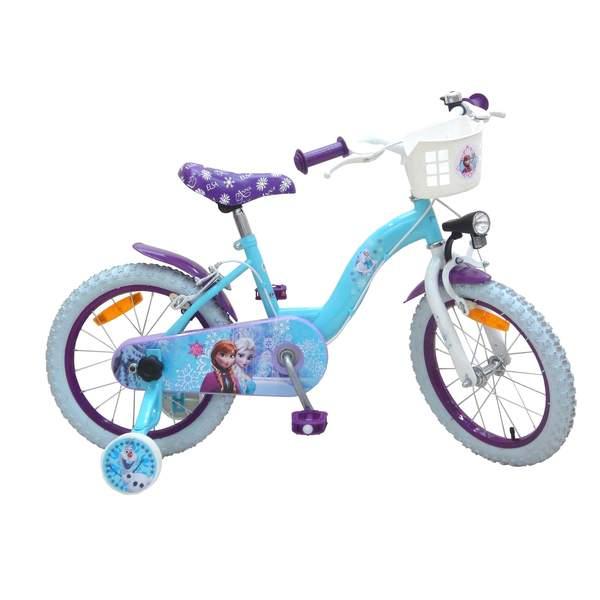 Vélo 16 pouces Reine des Neiges