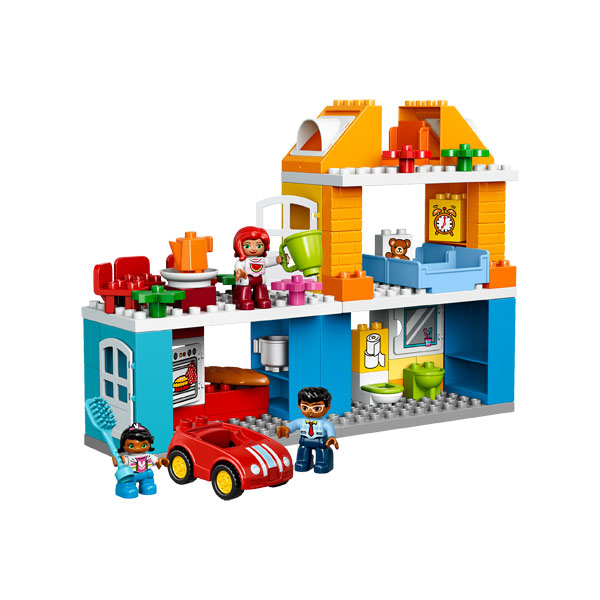 10835-La maison de famille LEGO : King Jouet, Lego, briques et blocs LEGO - Jeux de construction