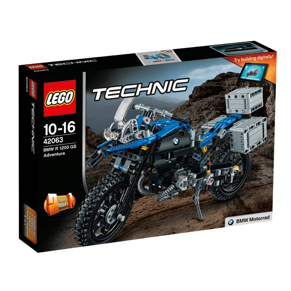 42063 - LEGO® TECHNIC - Moto BMW R1200GS Adventure