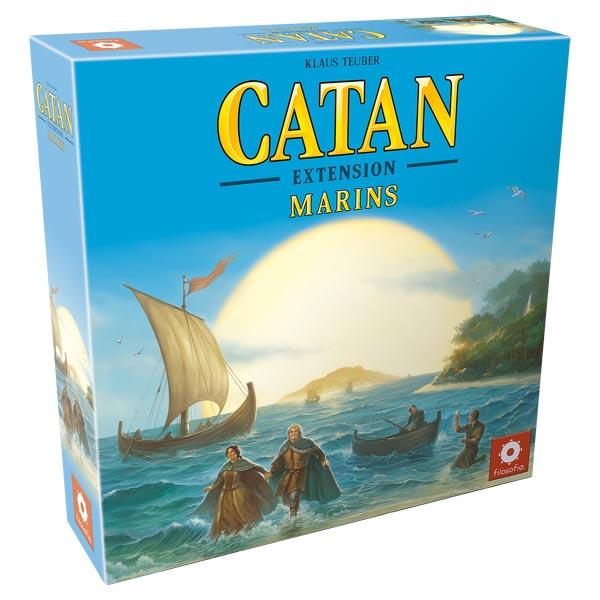 Jeu Catan-extension Marins