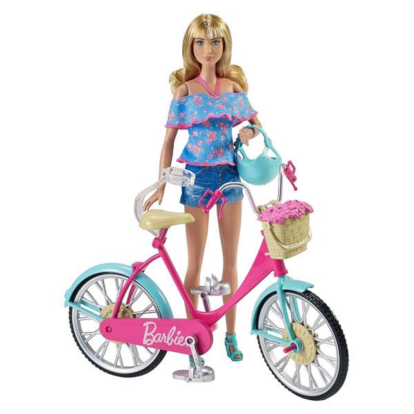 Barbie bicyclette
