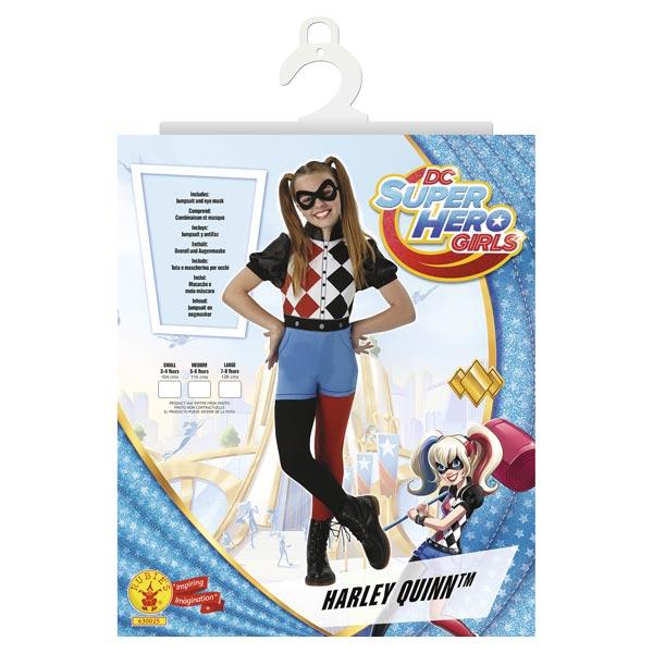 Déguisement classique Harley Quinn 5/6 ans