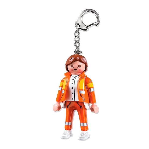 Porte clés secouriste - Playmobil