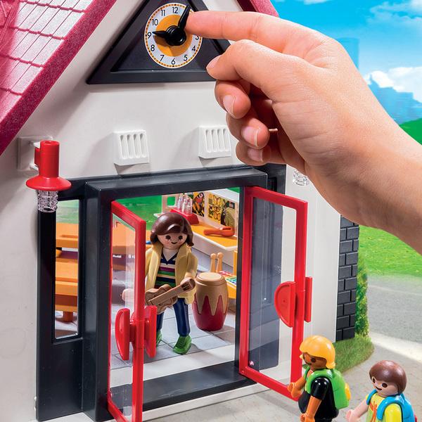 6865-Playmobil City Life-Ecole avec salle de classe